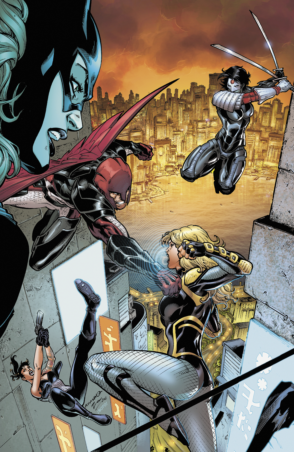 BIRDS OF PREY #14