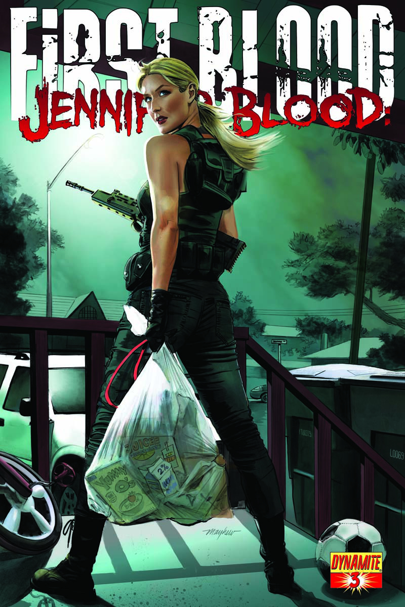 JENNIFER BLOOD FIRST BLOOD #3