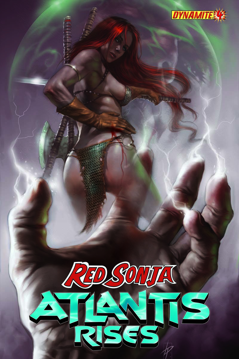 RED SONJA ATLANTIS RISES #4
