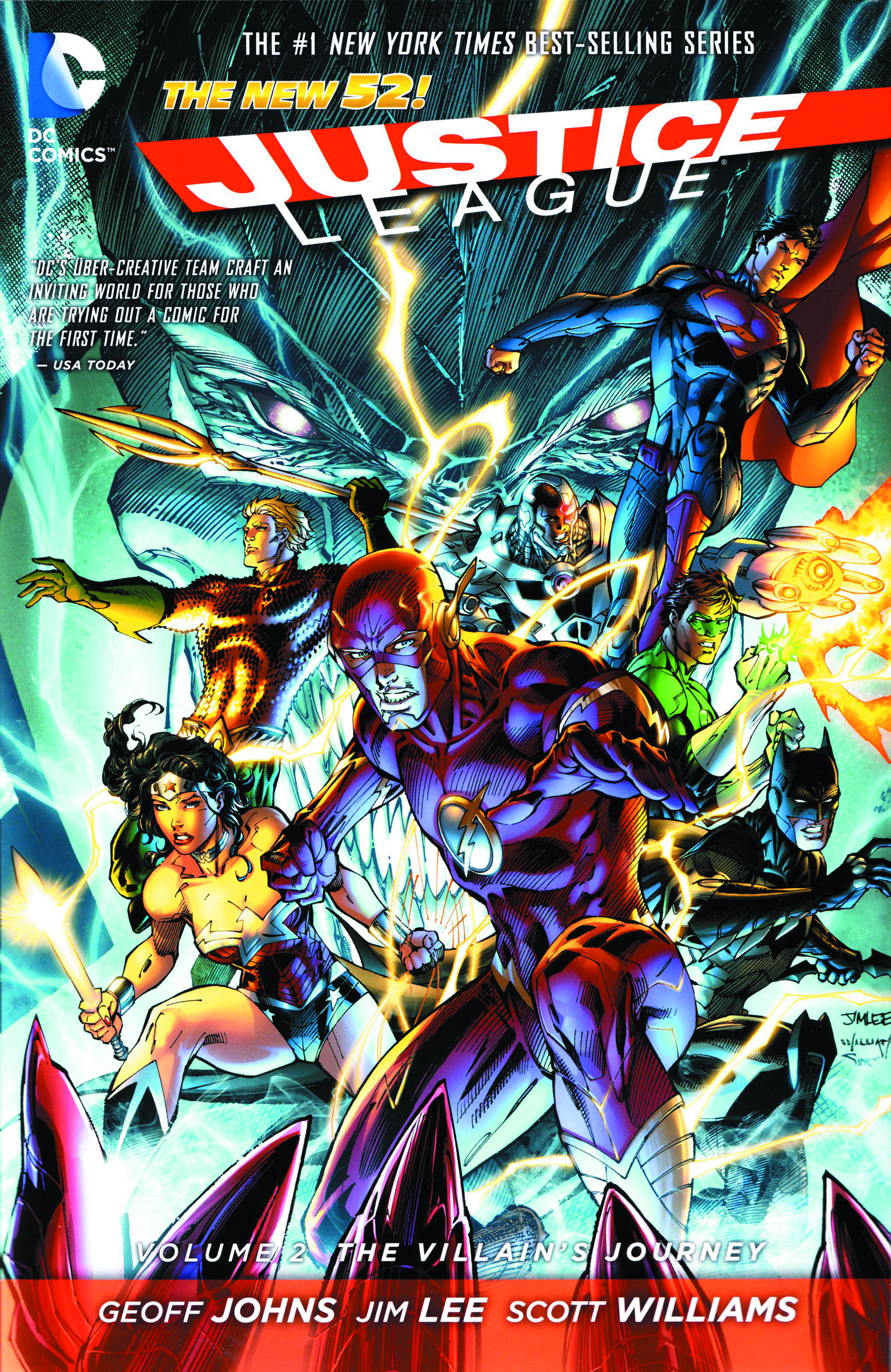 JUSTICE LEAGUE HC VOL 02 THE VILLAINS JOURNEY