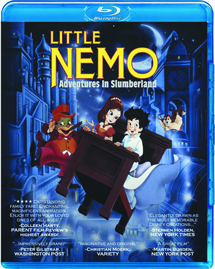 LITTLE NEMO ADVENTURES IN SLUMBERLAND BD