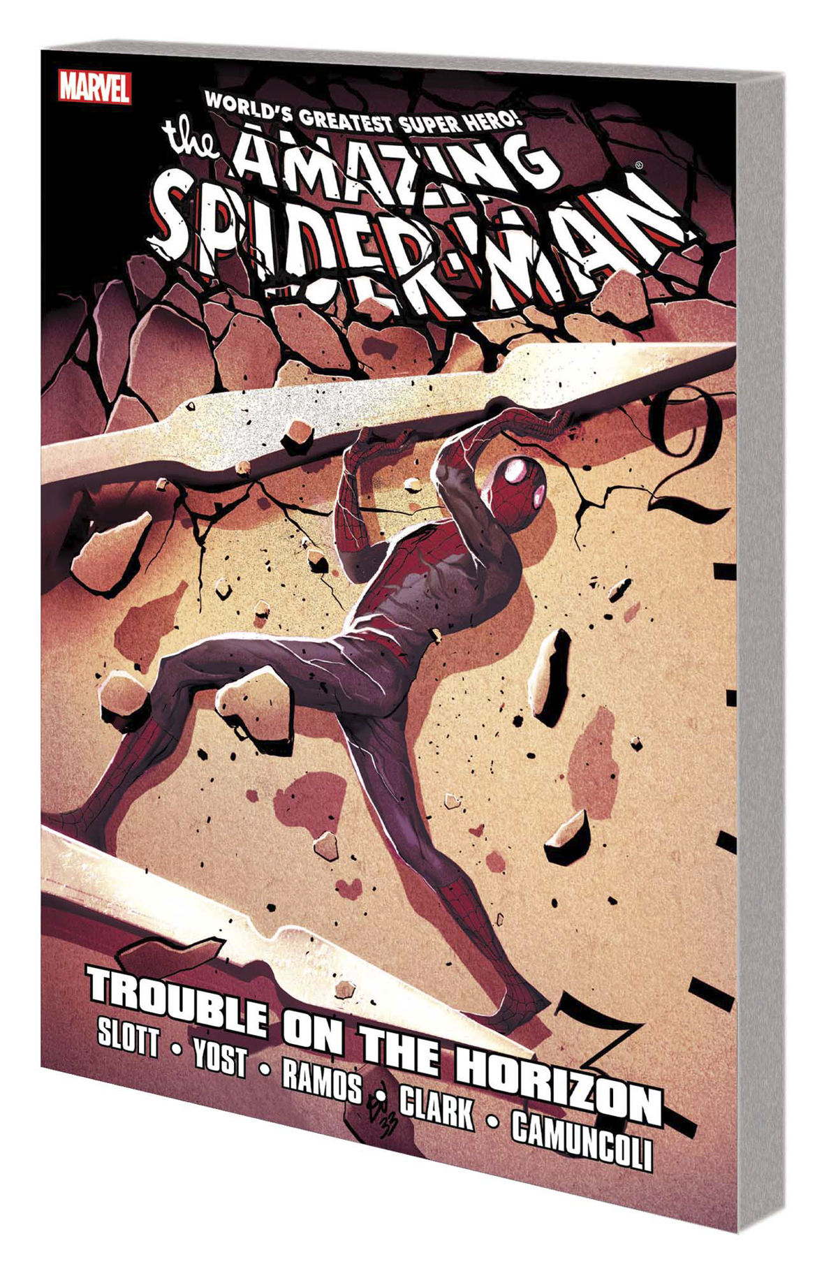 SPIDER-MAN TROUBLE ON HORIZON TP