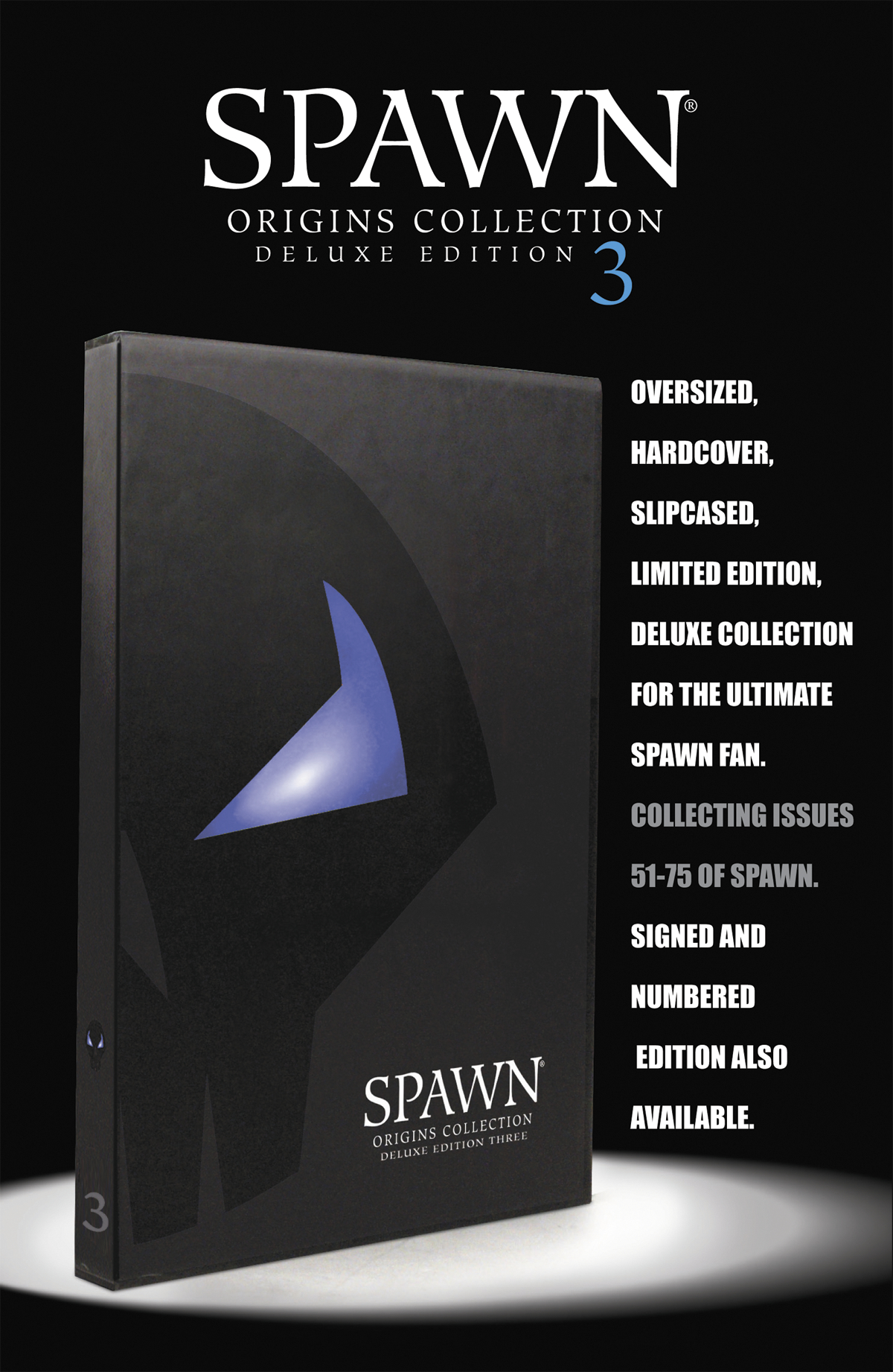 SPAWN ORIGINS DLX ED HC S/N VOL 03