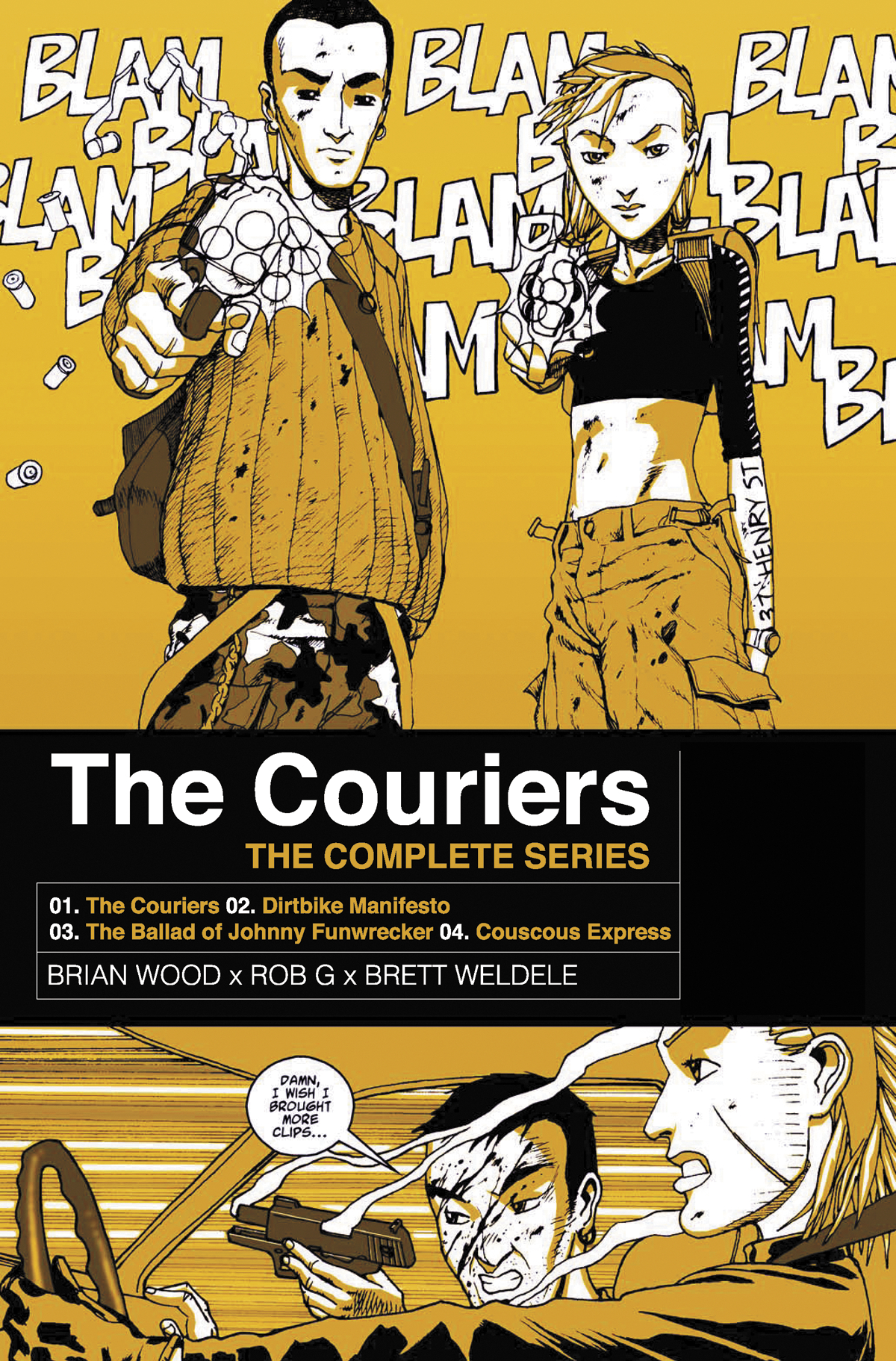 COURIERS COMPLETE COLLECTION TP (MR)