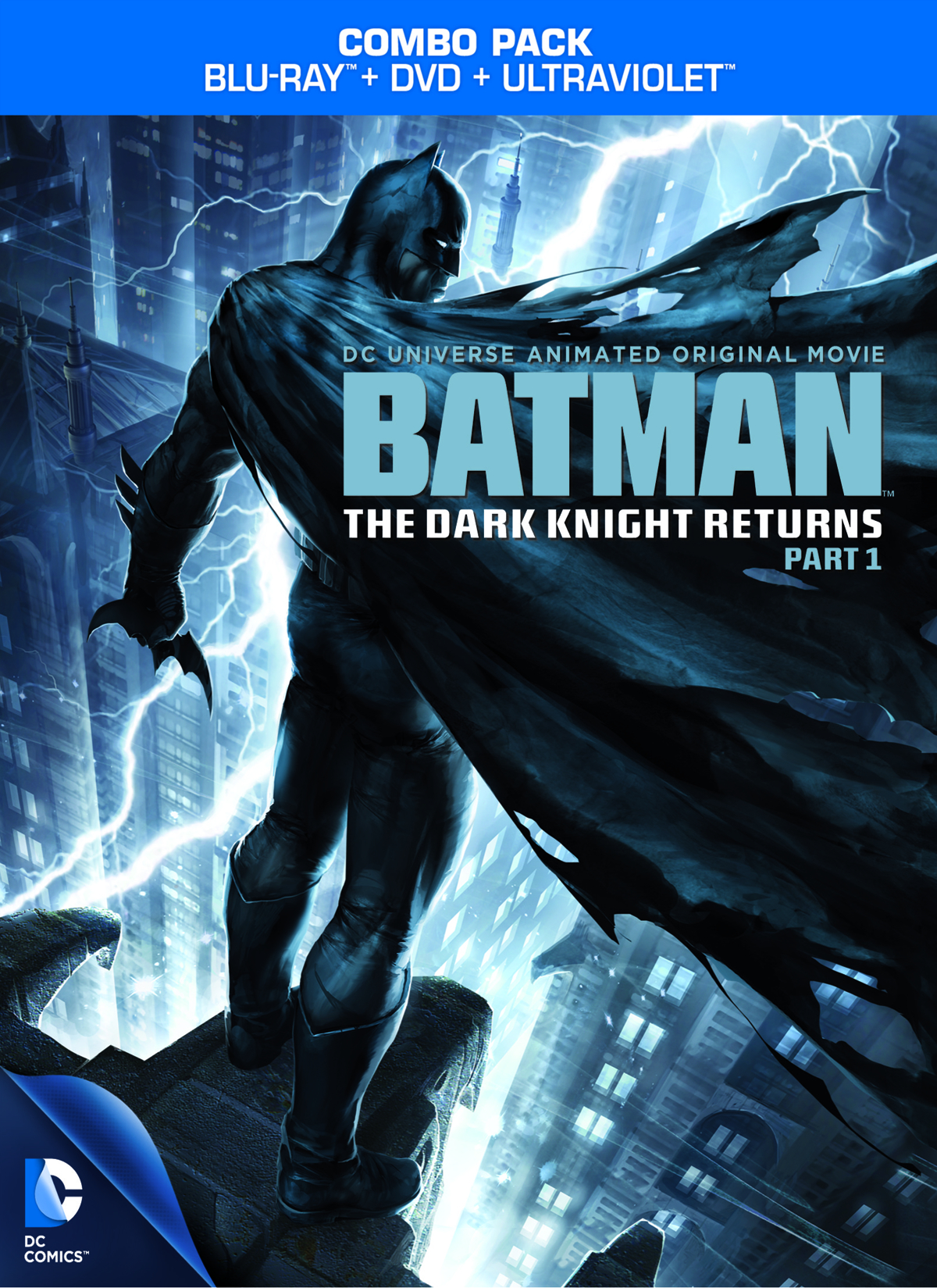 DCU BATMAN THE DARK KNIGHT RETURNS BD + DVD PT 1