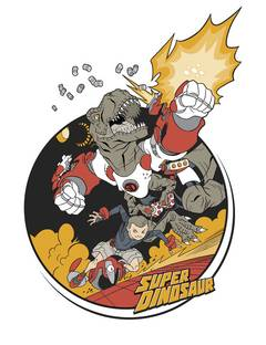 SUPER DINOSAUR DYNAMO T/S YOUTH LG