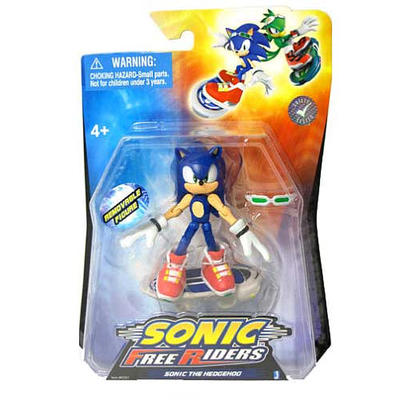 SONIC FREE RIDERS SONIC 3-IN AF