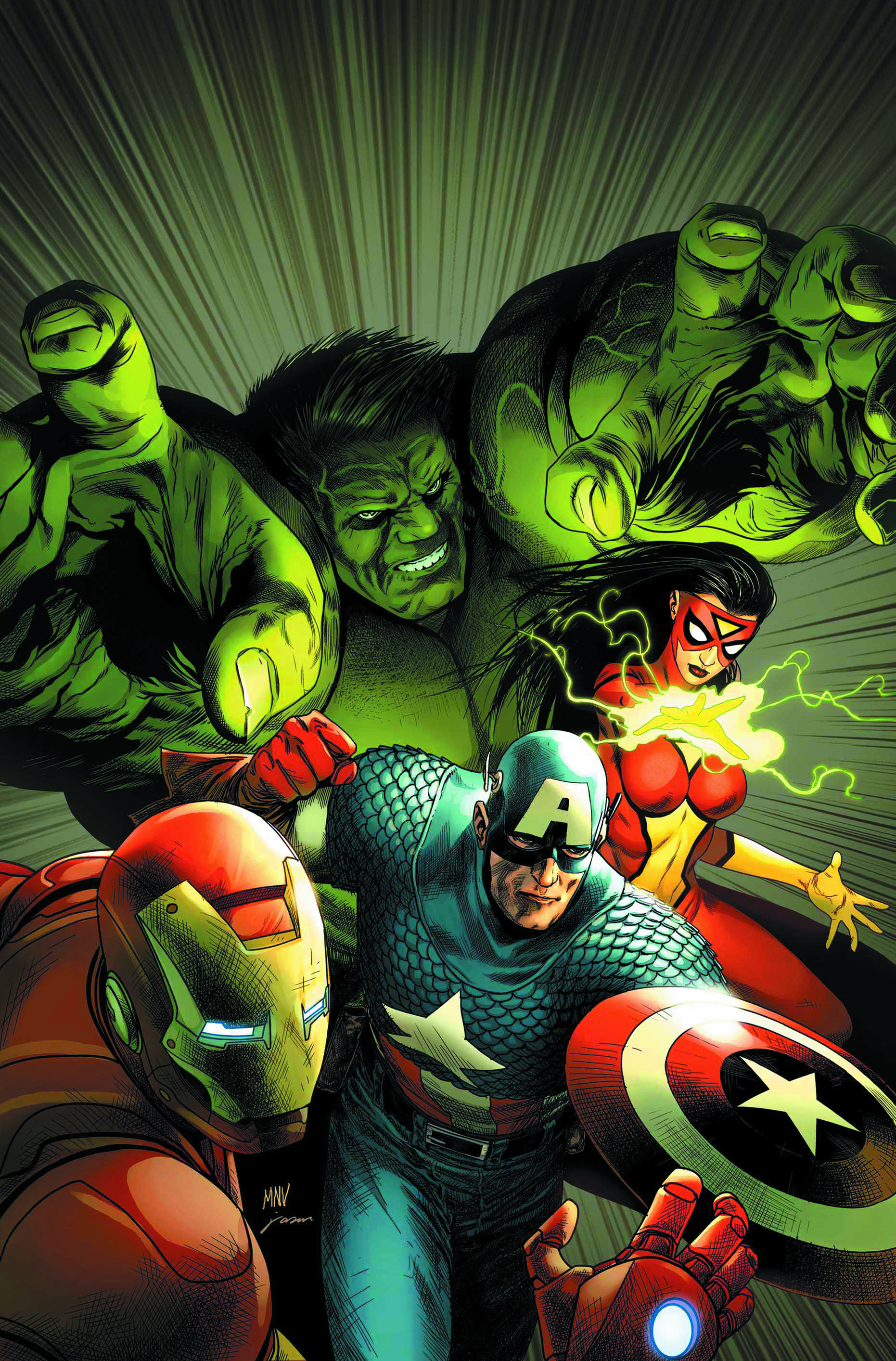 AVENGERS ASSEMBLE BY MCNIVEN POSTER NOW