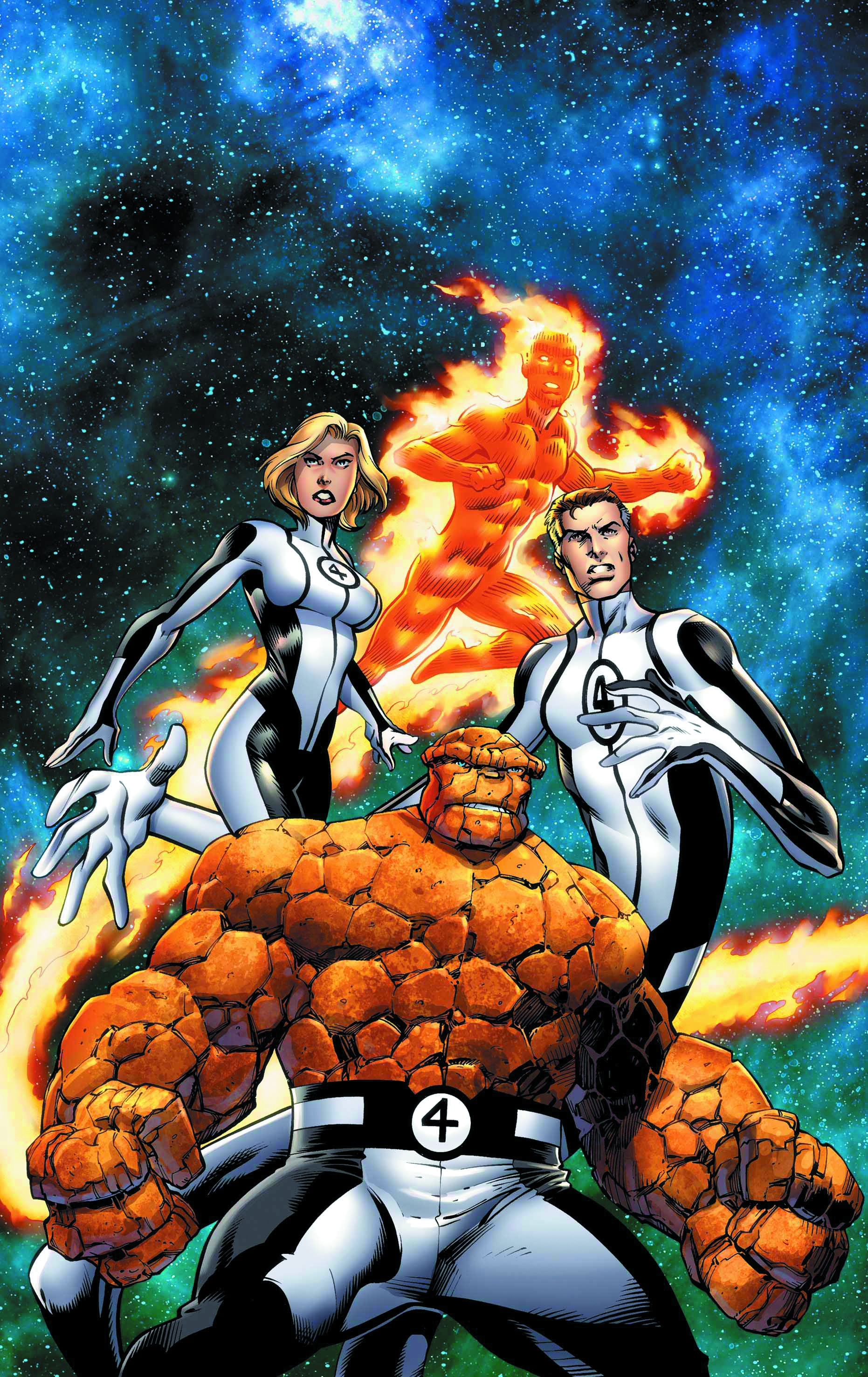 FANTASTIC FOUR BY BAGLEY POSTER NOW