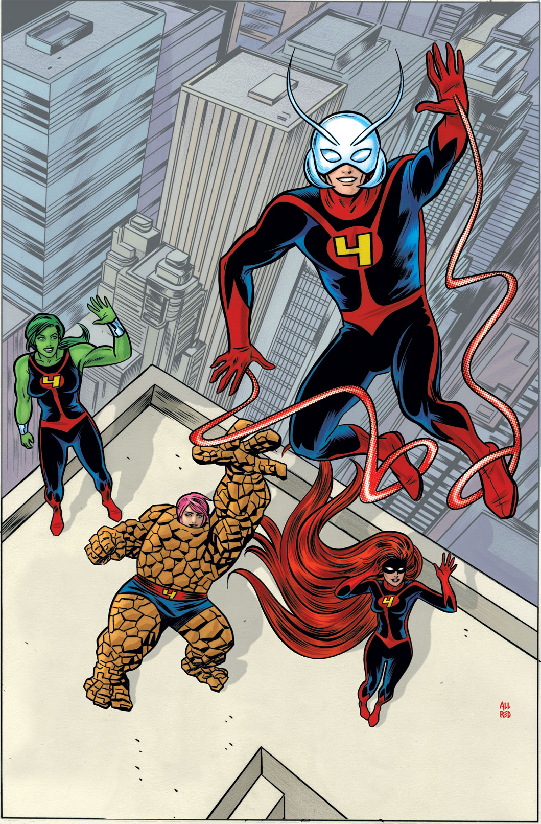 FF BY MIKE ALLRED POSTER NOW