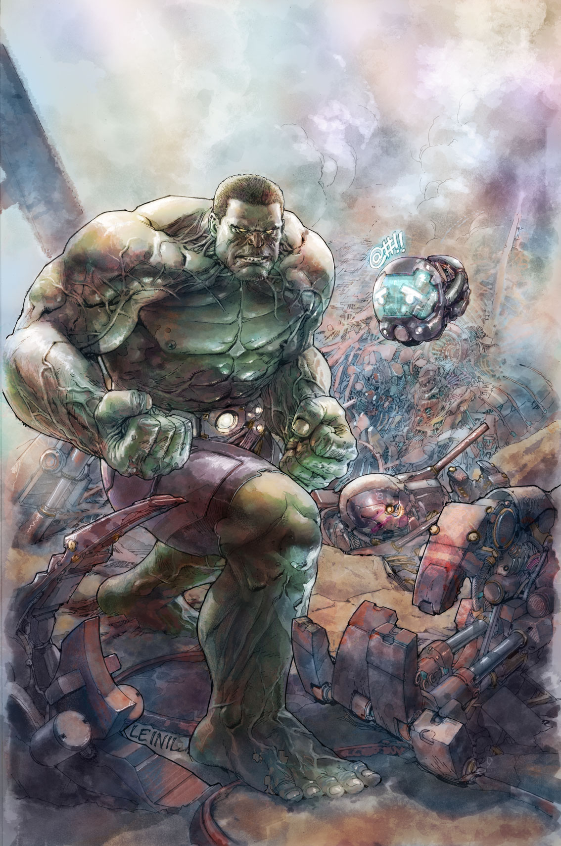 INDESTRUCTIBLE HULK BY LEINIL YU POSTER NOW