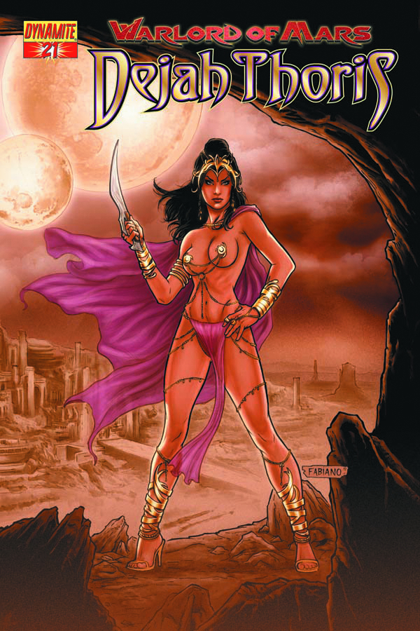 DF WARLORD OF MARS DEJAH THORIS #21 RISQUE RED EXC