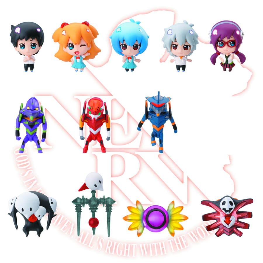 EVANGELION REVIVAL OF SHITO CHARA FORTUNE 12PC BMB DS