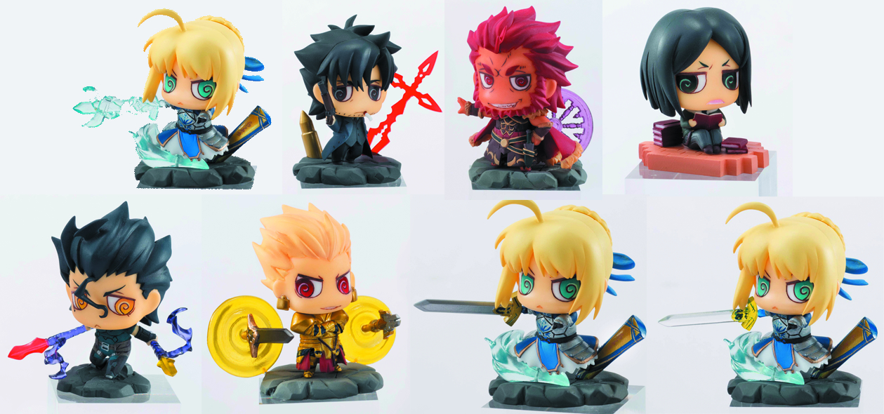 FATE/ZERO PETIT CHARA LAND 10PC BMB DS