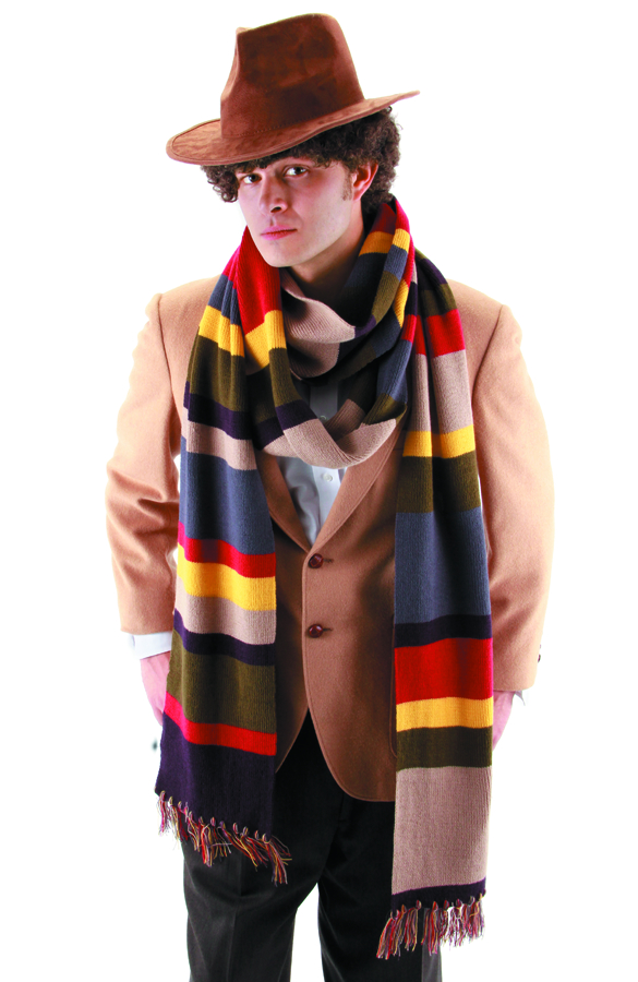 DOCTOR WHO 4TH DOCTOR SCARF 12 FT