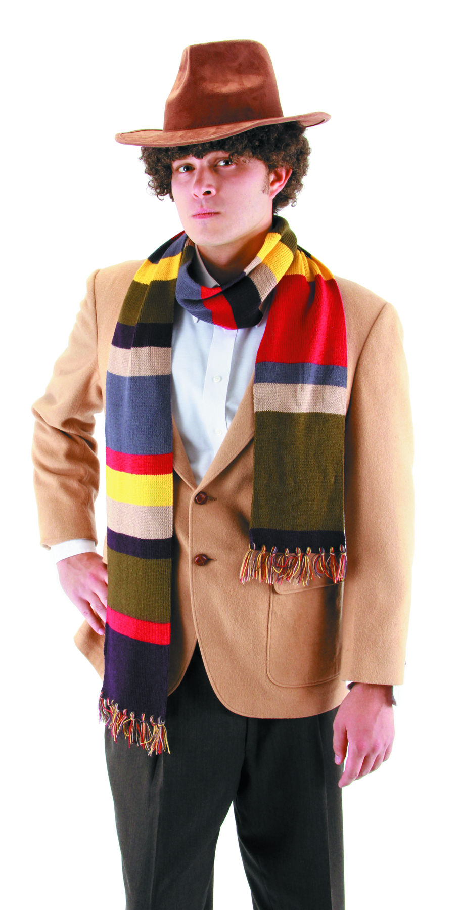 DOCTOR WHO 4TH DOCTOR SCARF 6 FT