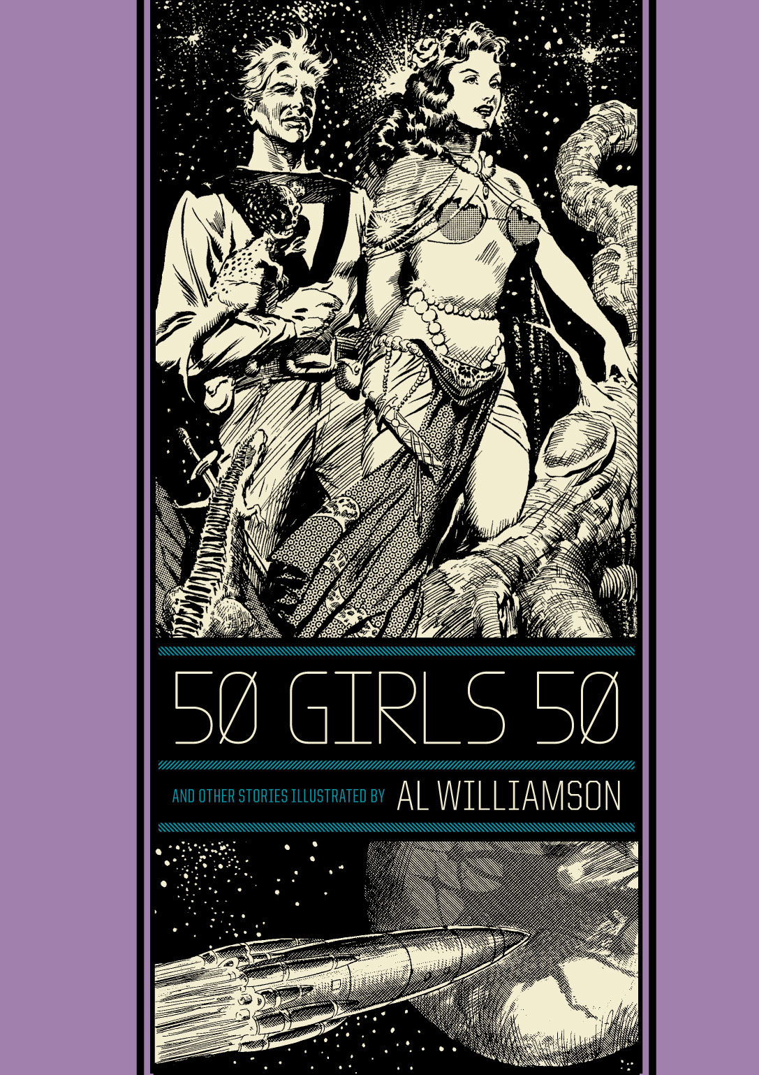 EC WILLIAMSON 50 GIRLS 50 & OTHER STORIES HC