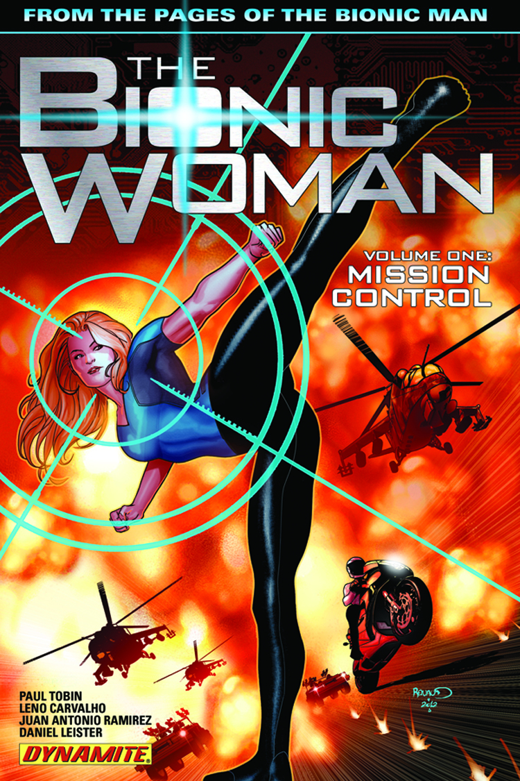 BIONIC WOMAN TP VOL 01 MISSION CONTROL