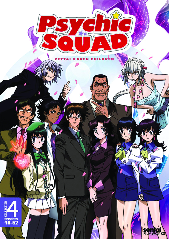 PSYCHIC SQUAD DVD COLL 4