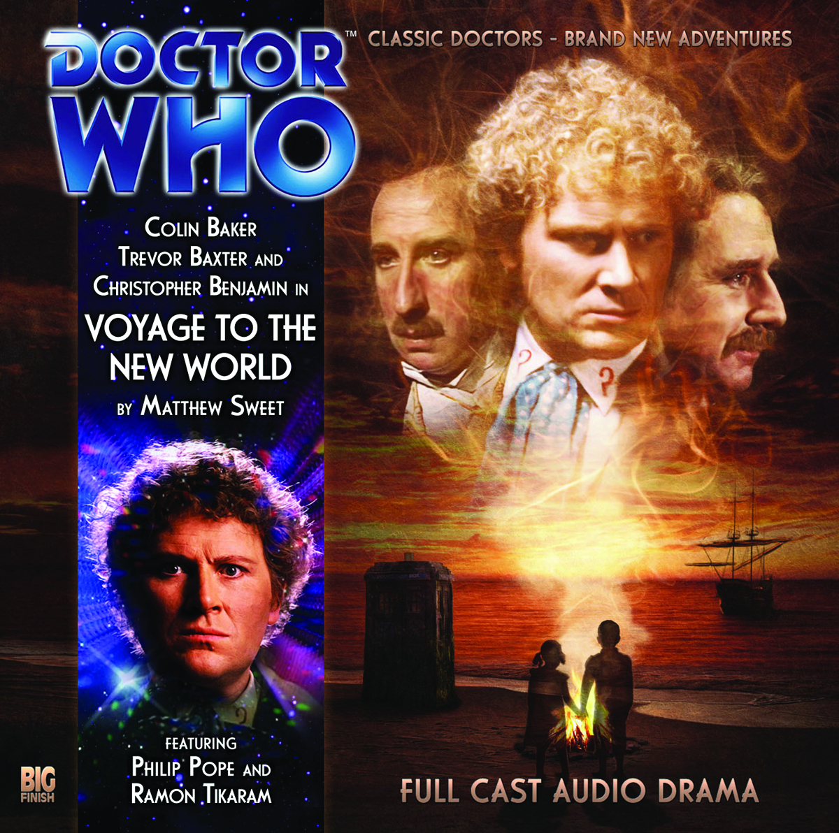 DOCTOR WHO VOYAGES TO NEW WORLD AUDIO CD