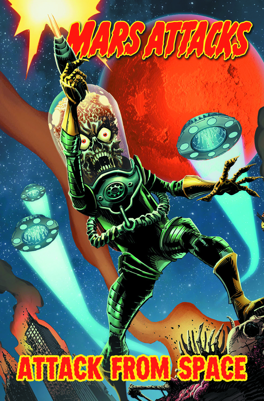 MARS ATTACKS TP VOL 01 ATTACK FROM SPACE