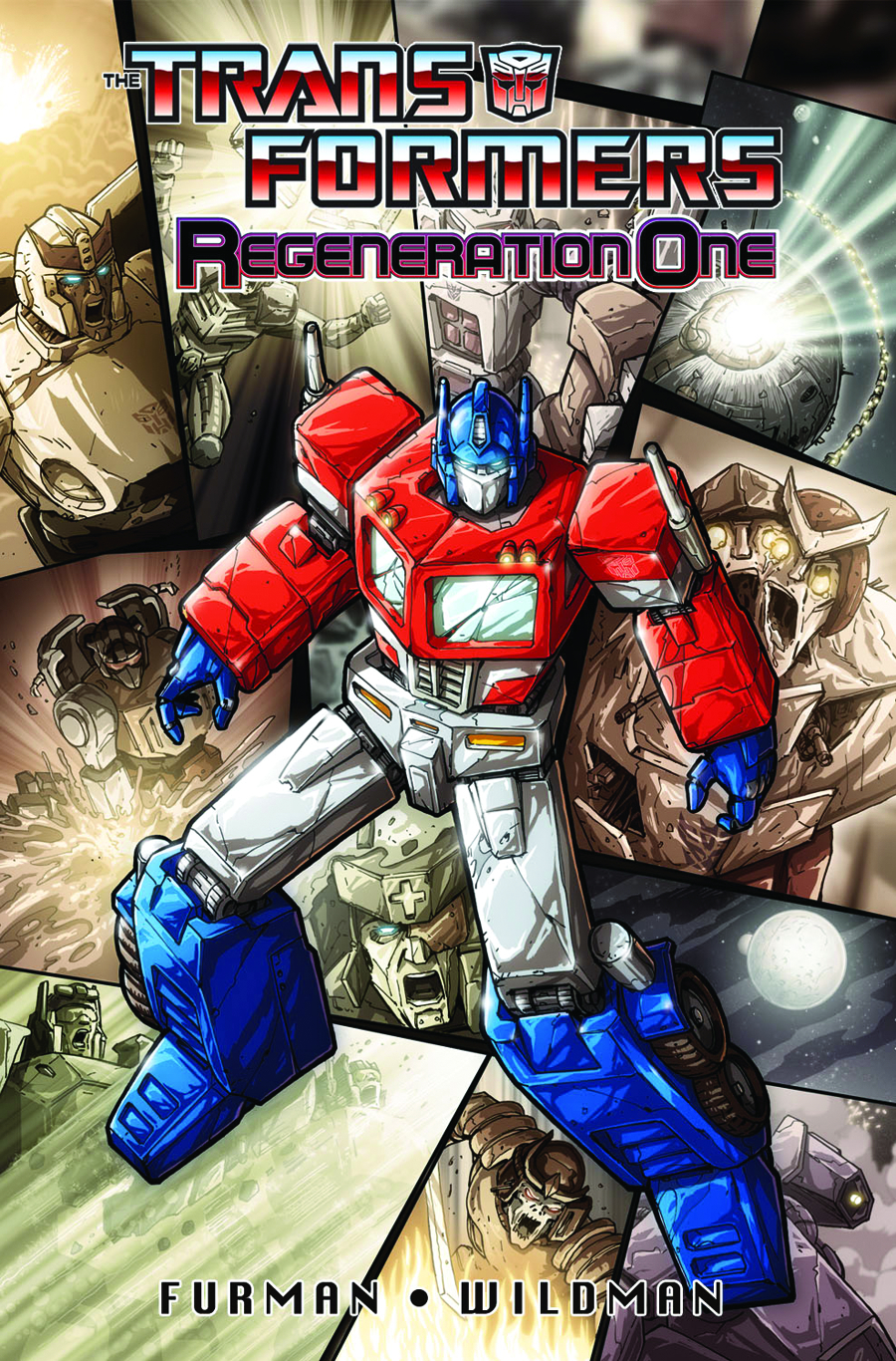 TRANSFORMERS REGENERATION ONE TP VOL 01