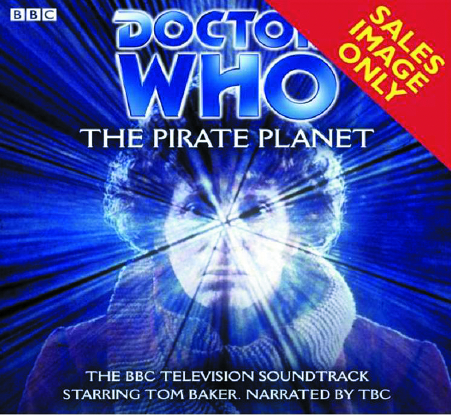 DOCTOR WHO PIRATE PLANET AUDIO CD