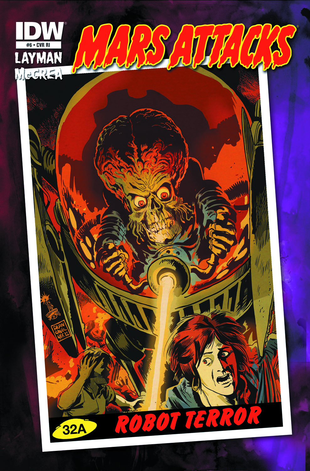 MARS ATTACKS #6