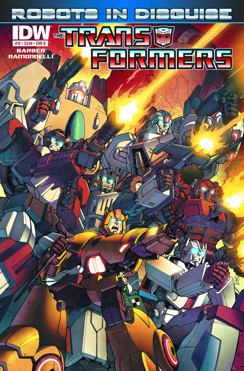 TRANSFORMERS ROBOTS IN DISGUISE #12