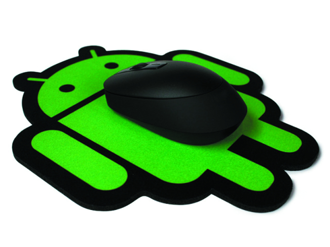 ANDROID FOUNDRY MOUSE PAD BLK HEXCODE