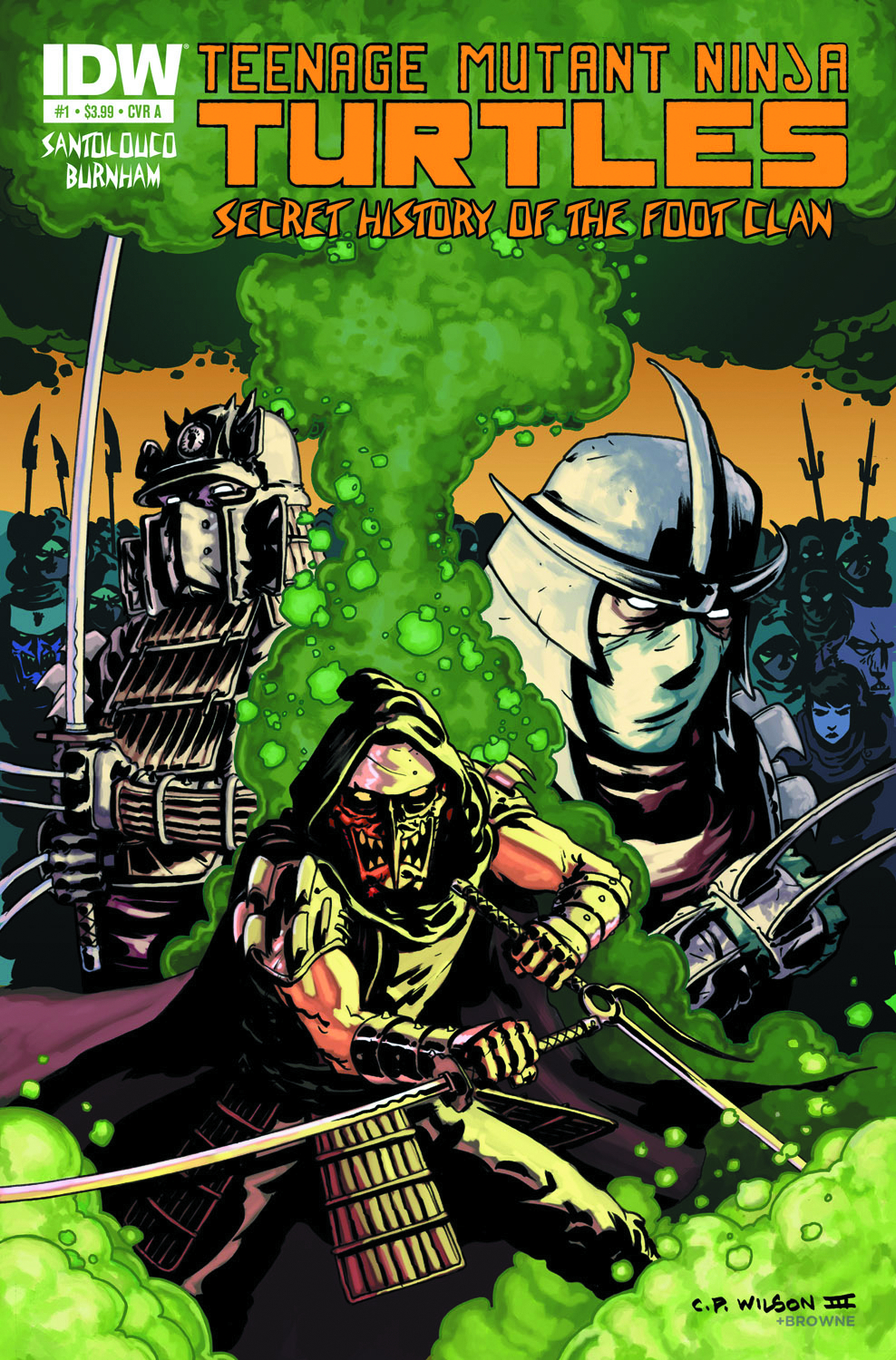 TMNT SECRET FOOT CLAN #1