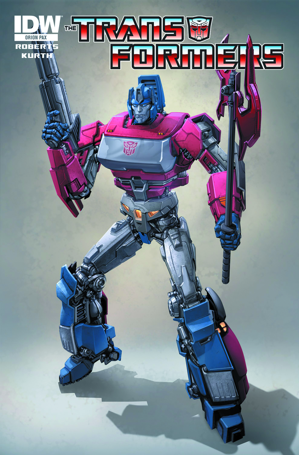 TRANSFORMERS SPOTLIGHT ORION PAX ONE SHOT