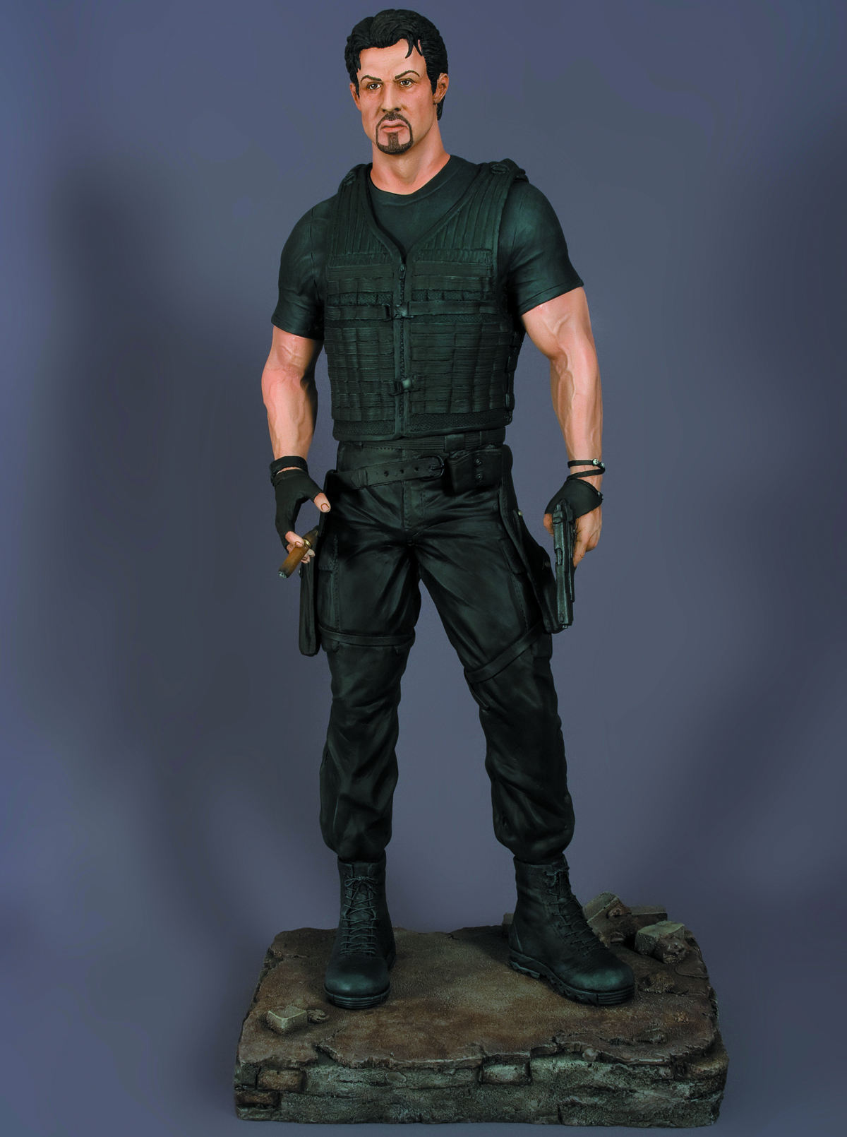 EXPENDABLES BARNEY ROSS 1/4 SCALE STATUE