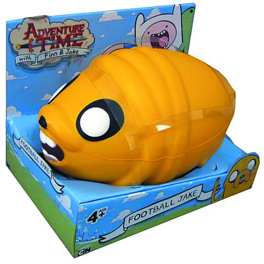 ADVENTURE TIME 8-IN FOOTBALL JAKE
