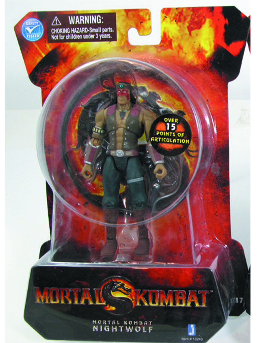 MORTAL KOMBAT 9 NIGHTWOLF 4-IN AF