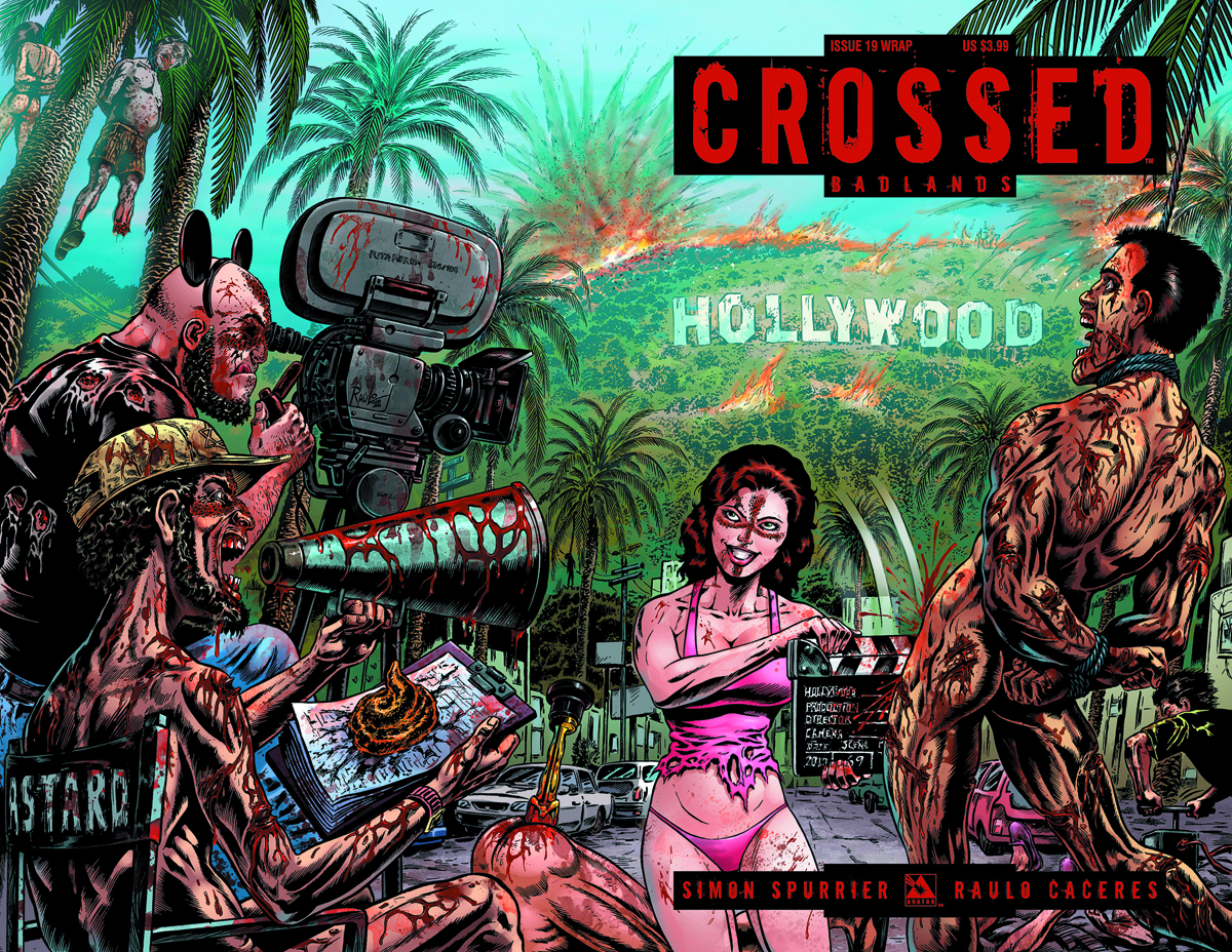 CROSSED BADLANDS #19 WRAP CVR