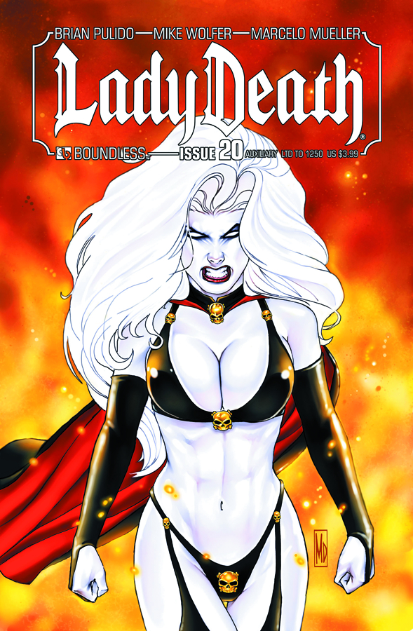 LADY DEATH (ONGOING) #20 AUXILIARY CVR