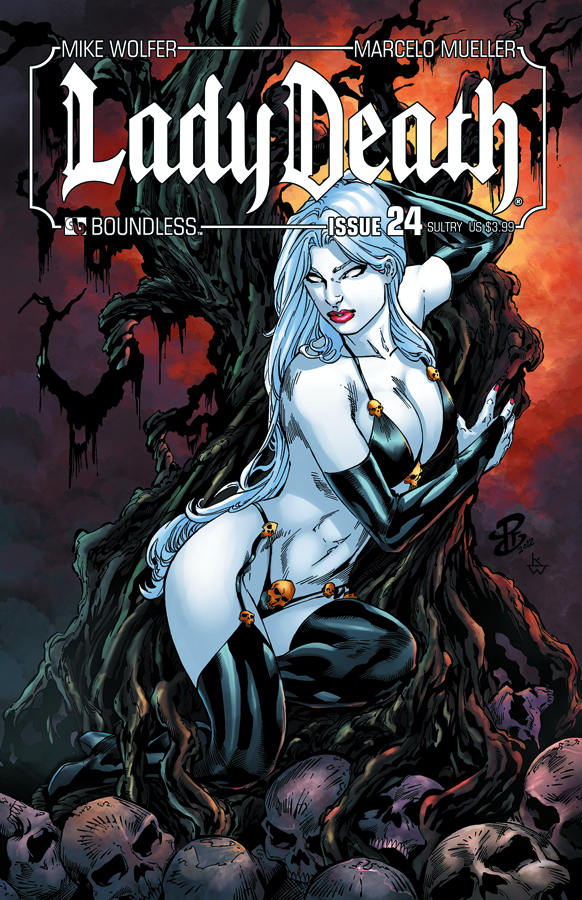 LADY DEATH (ONGOING) #24 SULTRY CVR