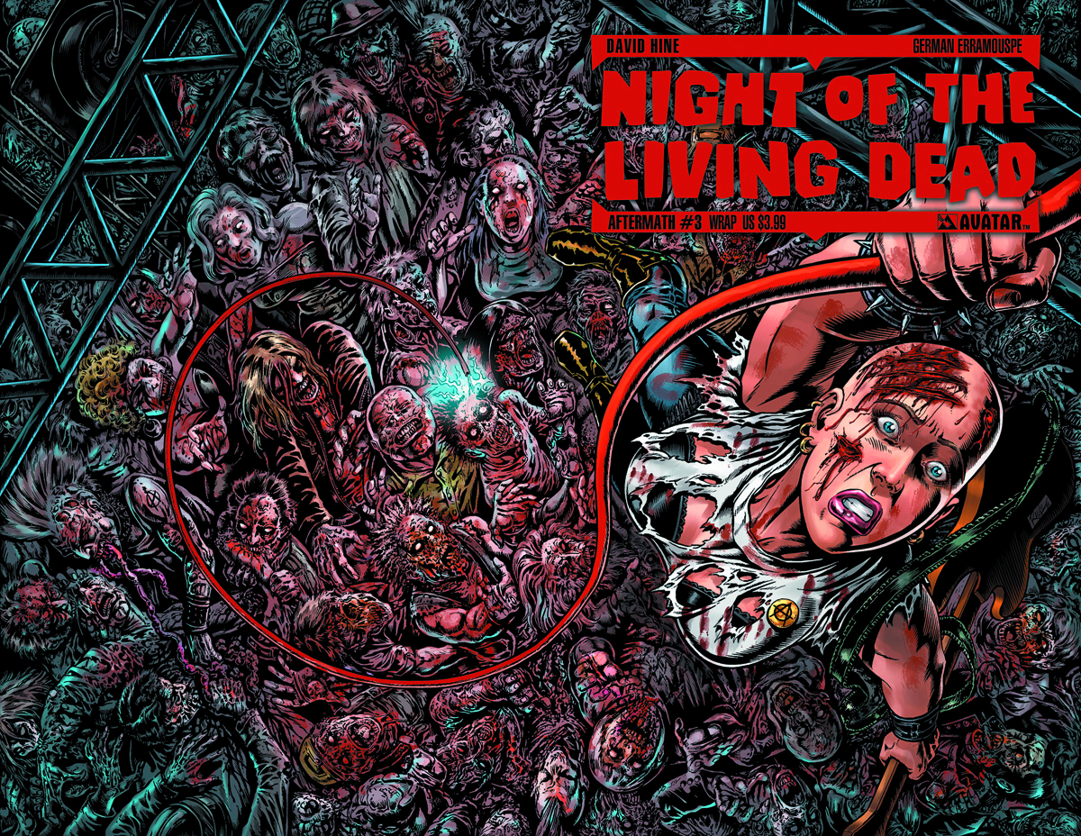 NIGHT O/T LIVING DEAD AFTERMATH #3 WRAP CVR