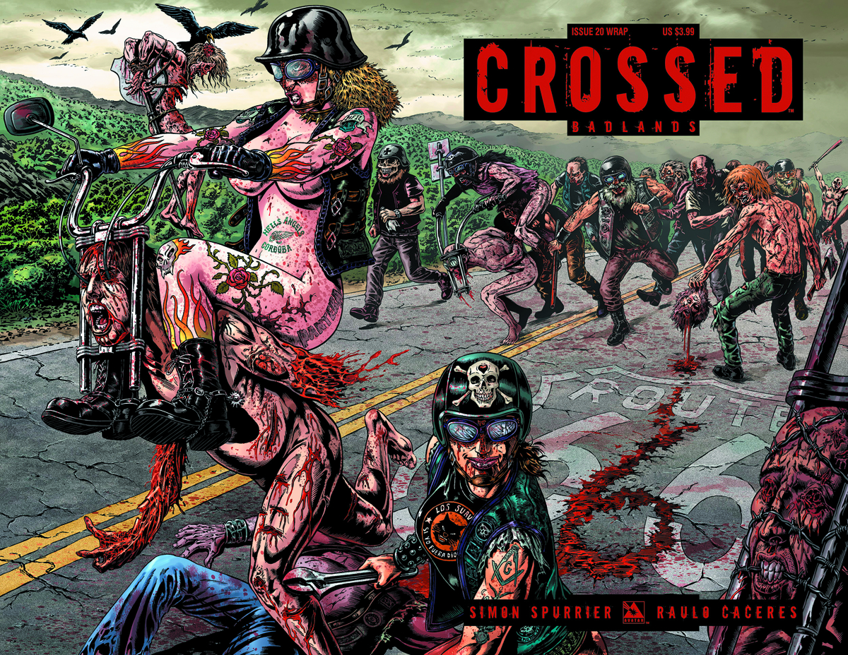 CROSSED BADLANDS #20 WRAP CVR