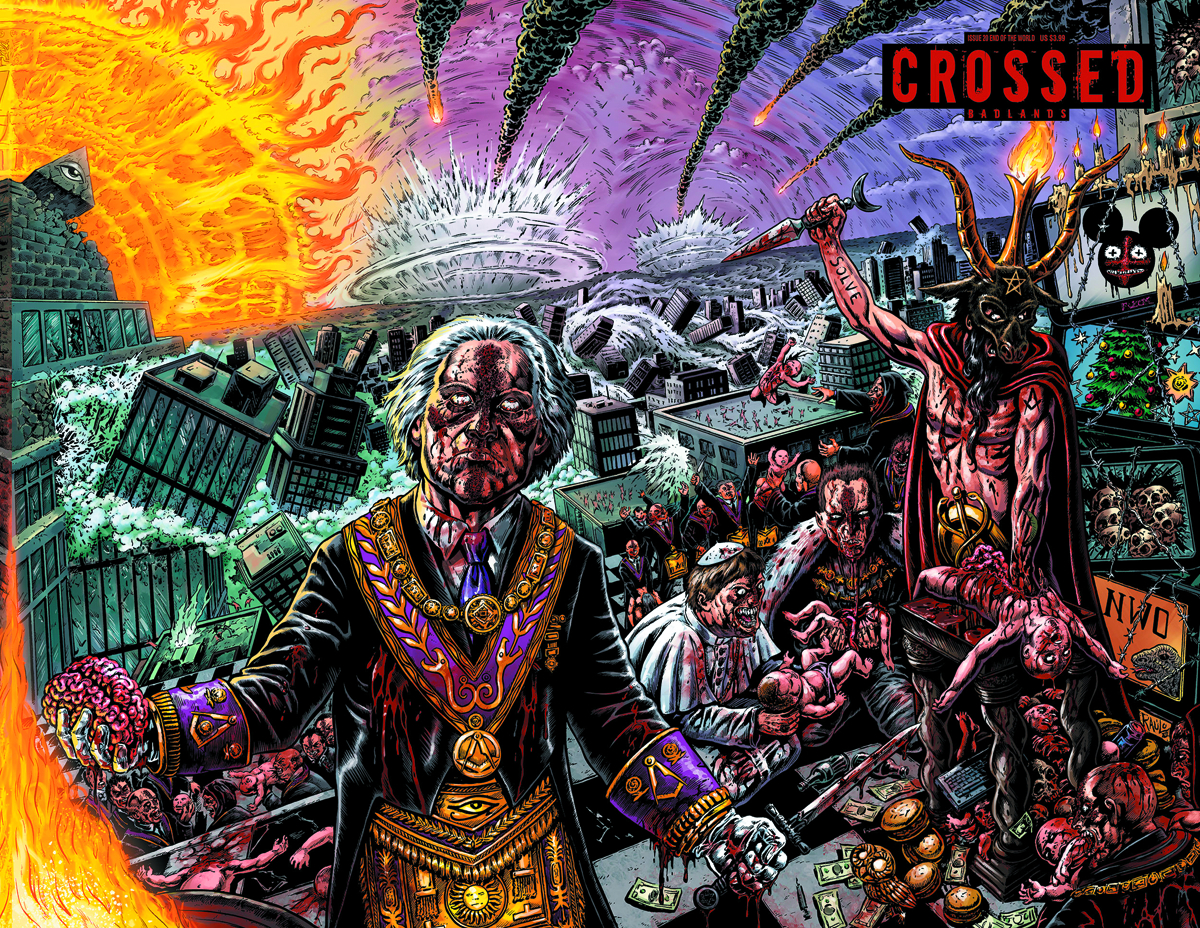 CROSSED BADLANDS #20 END O/T WORLD CVR
