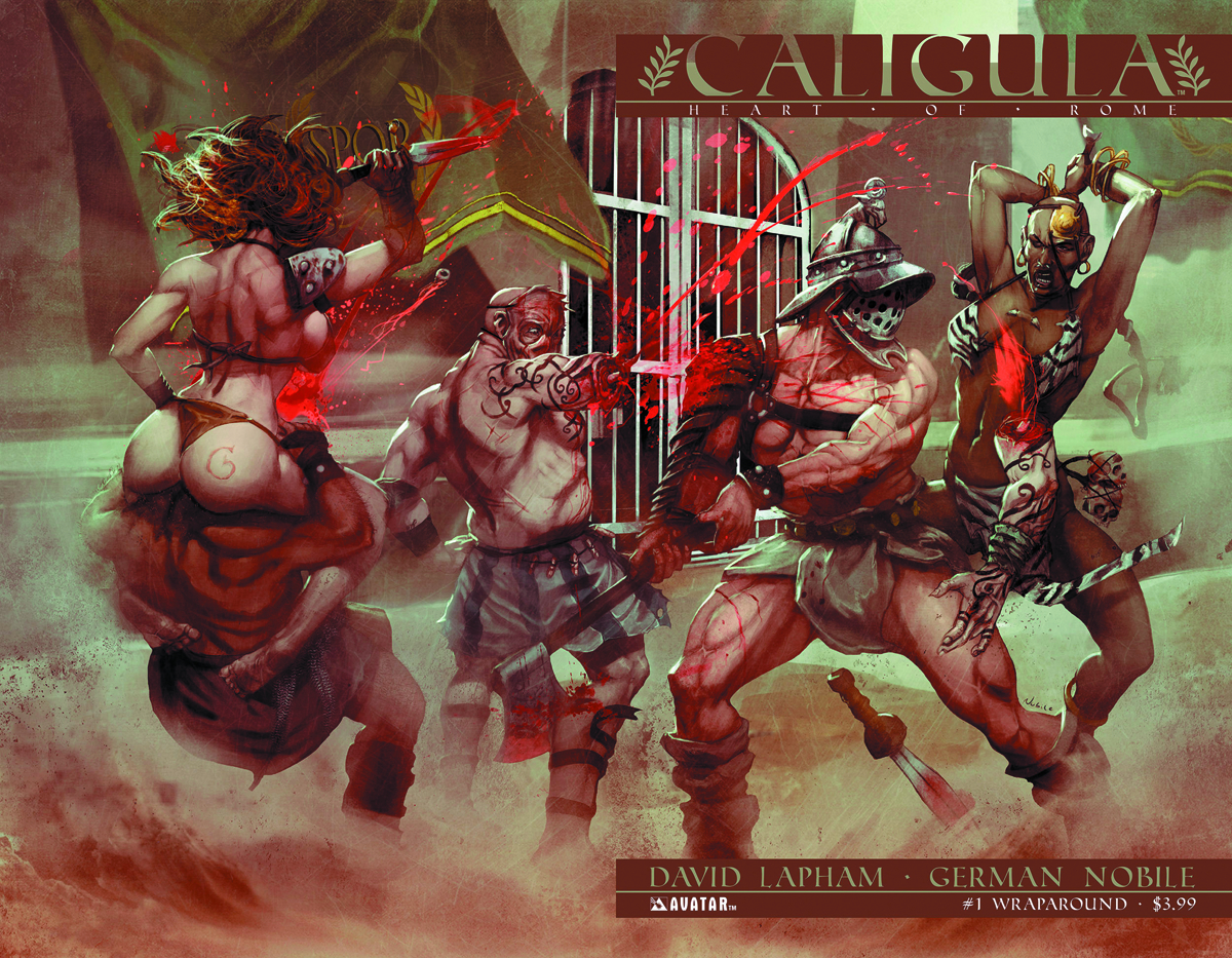 CALIGULA HEART OF ROME #1 (OF 6) WRAP CVR