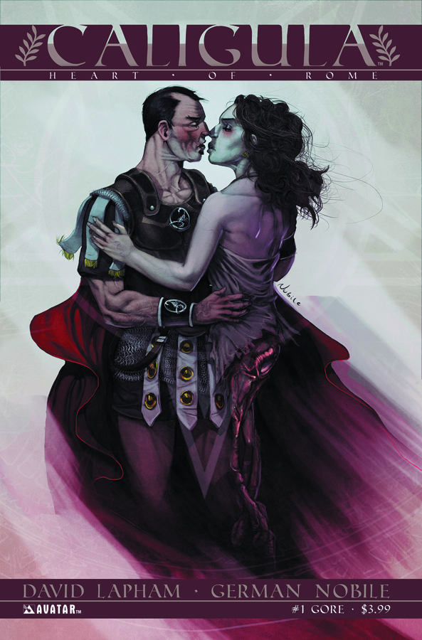 CALIGULA HEART OF ROME #1 (OF 6) GORE CVR