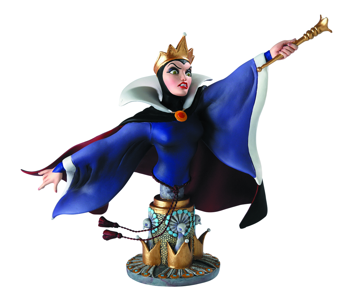 GRAND JESTER EVIL QUEEN MINI-BUST