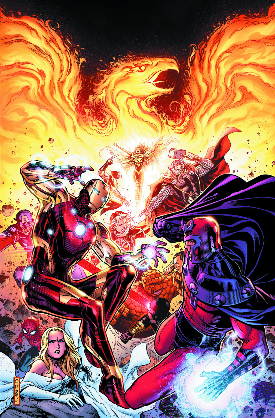 AVENGERS VS X-MEN #2 (OF 12) 7TH PTG CHEUNG VAR AVX