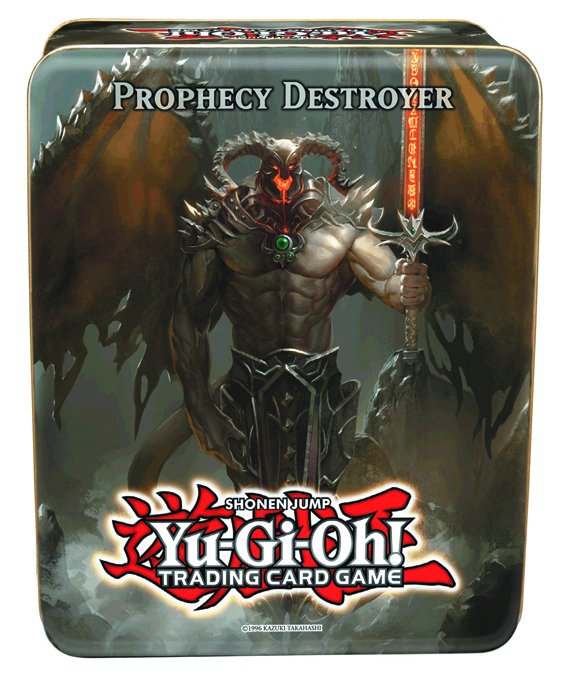 YU GI OH TCG 2012 COLLECTIBLE TIN CASE WAVE 2.5