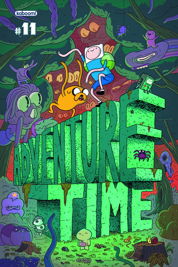 (USE NOV128076) MISPRINT ADVENTURE TIME #11