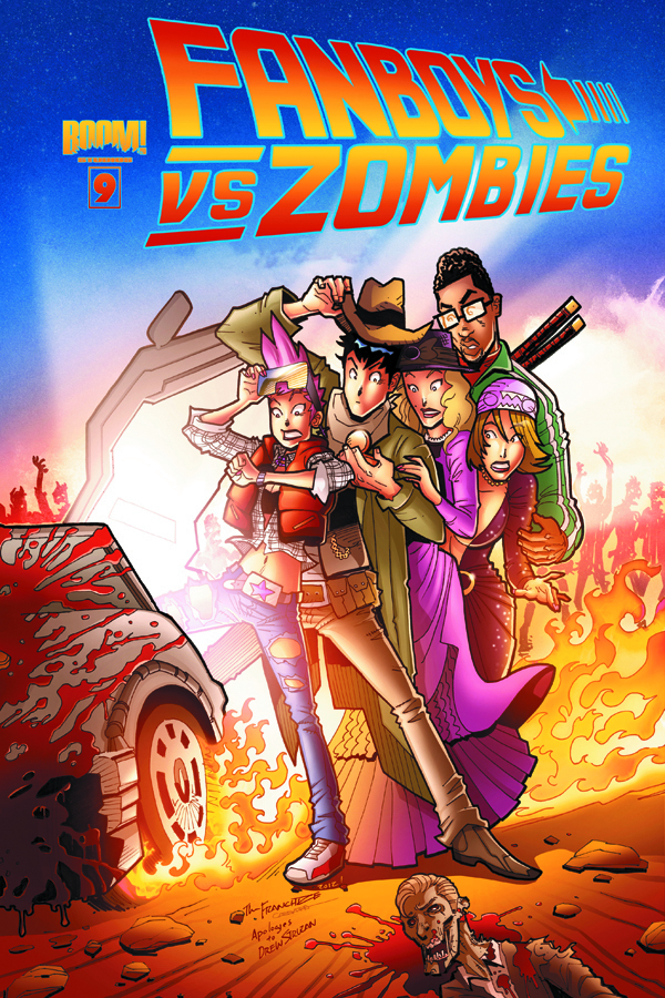 FANBOYS VS ZOMBIES #9 MAIN CVRS