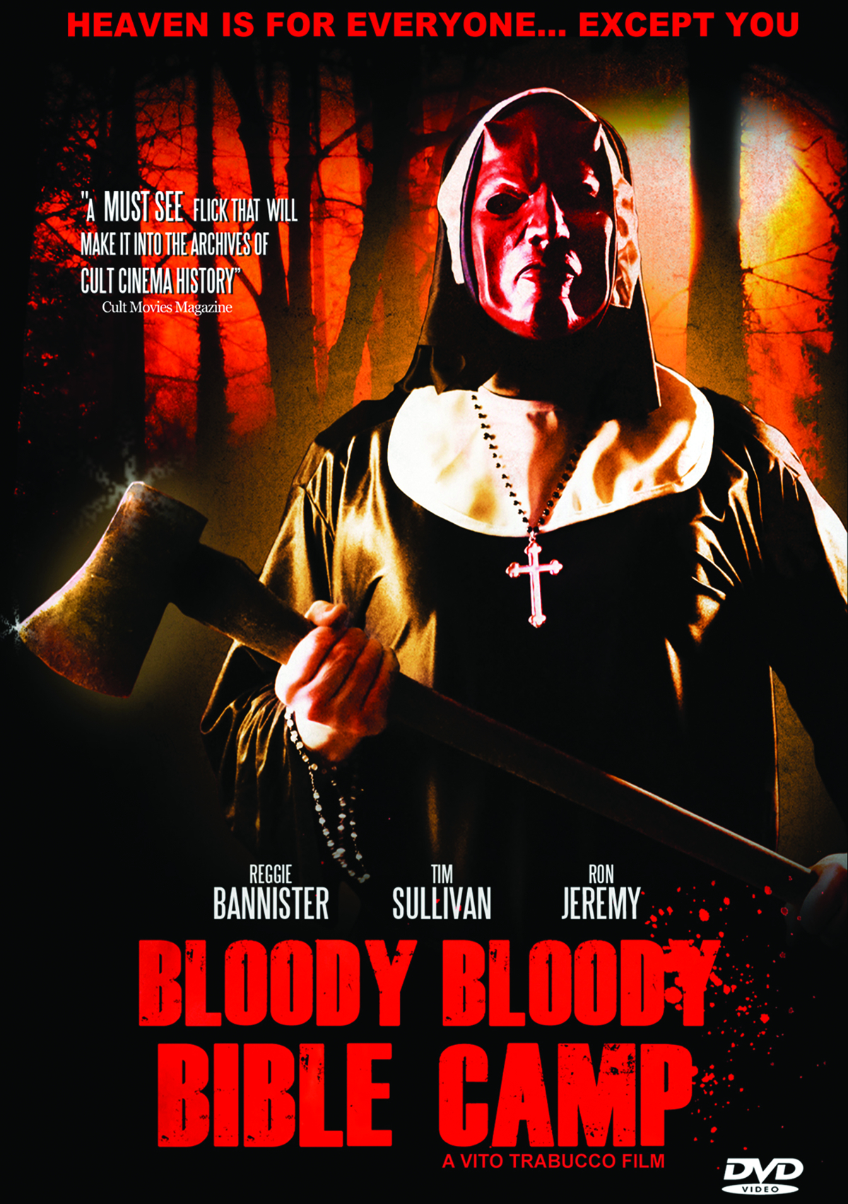 BLOODY BLOODY BIBLE CAMP DVD