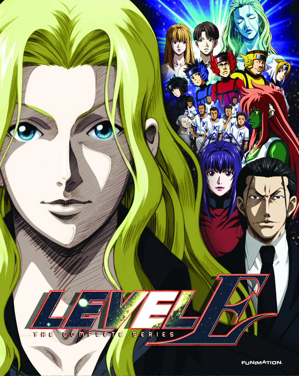 LEVEL E COMP SER BD + DVD